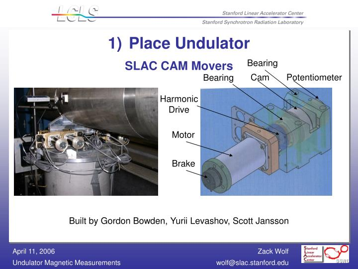 Place Undulator