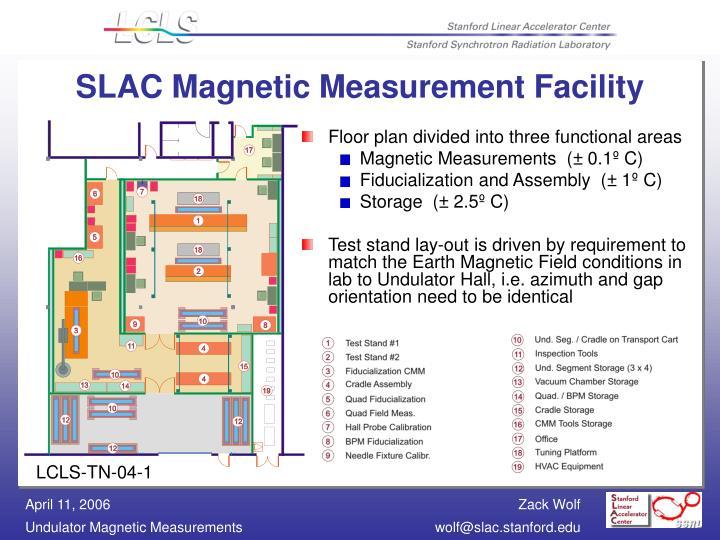 Slac magnetic measurement facility