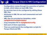 torque client wn configuration