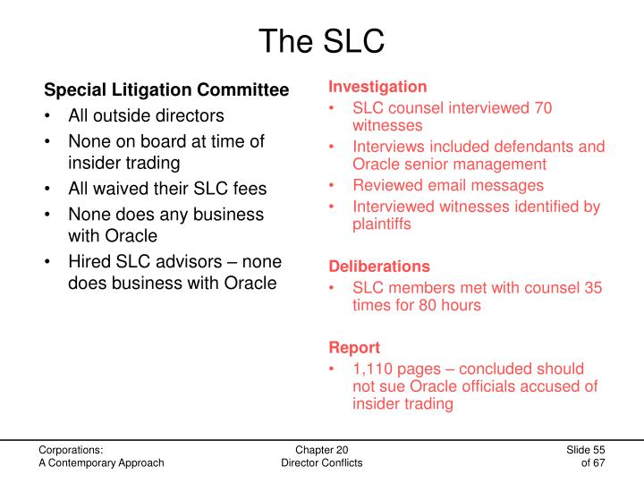 The SLC