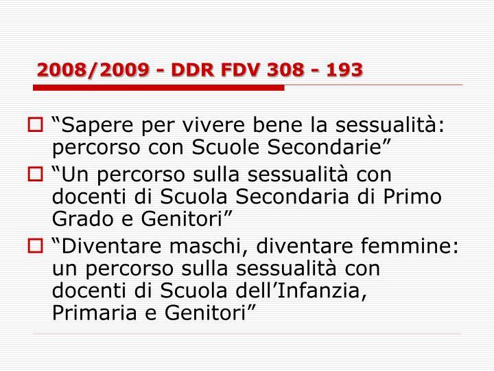 2008/2009 - DDR FDV 308 - 193