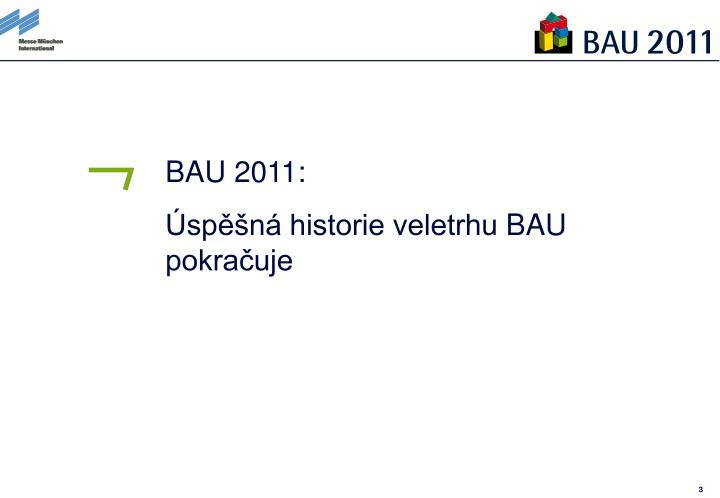 BAU 2011:
