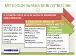 metodologia fases de investigacion