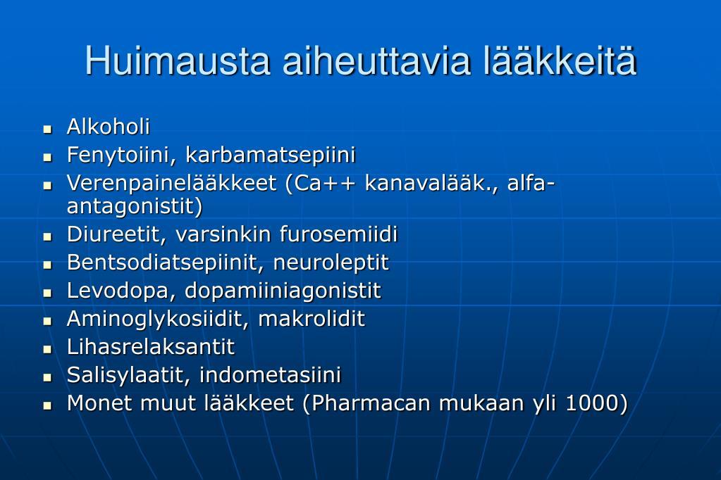 Ortostaattinen Hypotensio