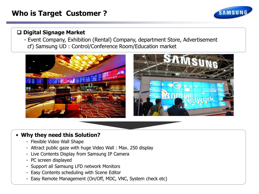 Samsung Video Wall System