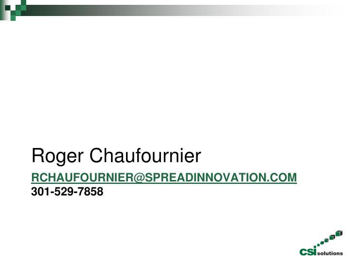 Roger Chaufournier