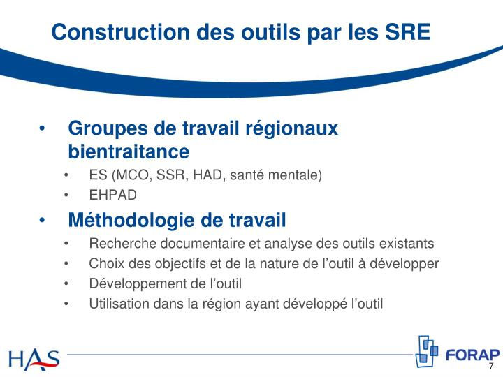 Ppt d ploiement de la bientraitance en tablissement de for Outil de construction