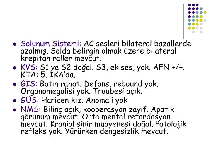 Solunum Sistemi:
