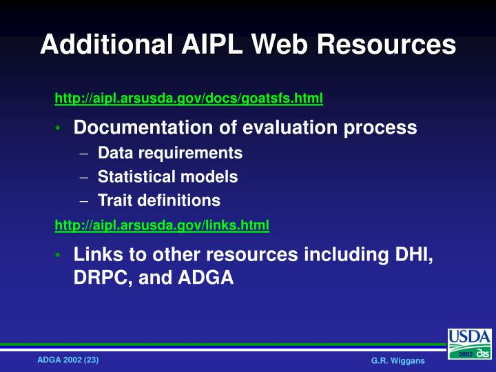 Additional AIPL Web Resources
