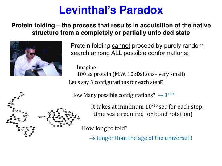 Levinthal