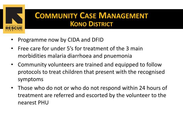 Community Case Management