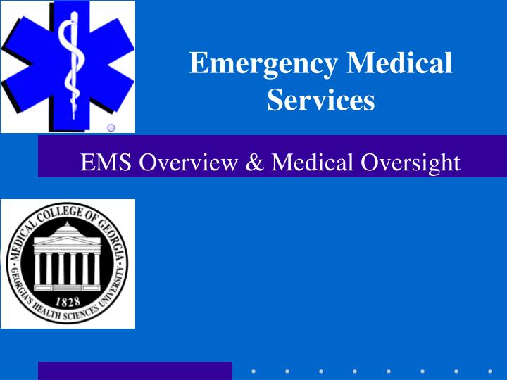 Ppt emergency medical services powerpoint presentation id:4562425.