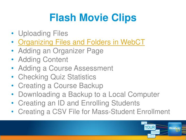 Flash Movie Clips
