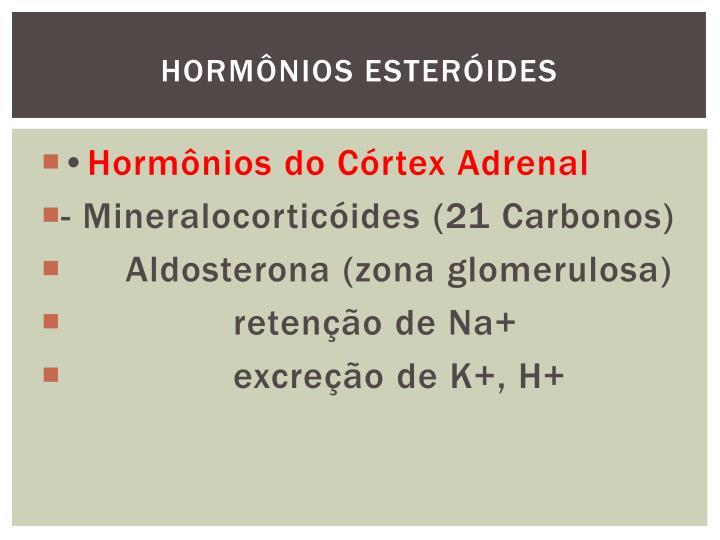 HORMÔNIOS ESTERÓIDES