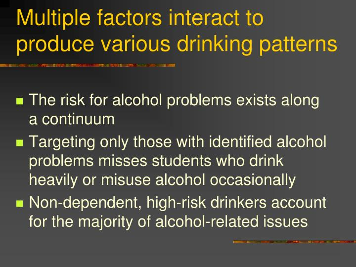 alcohol related issues