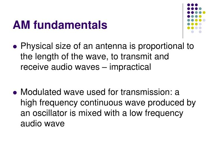 Am fundamentals1