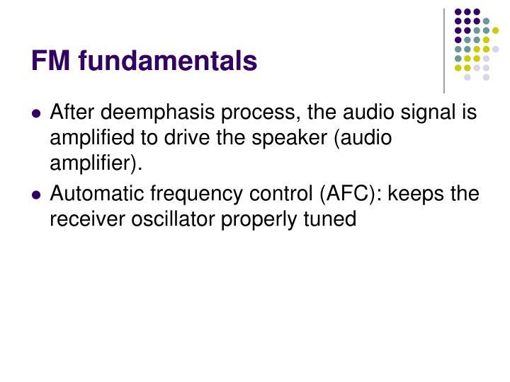 FM fundamentals