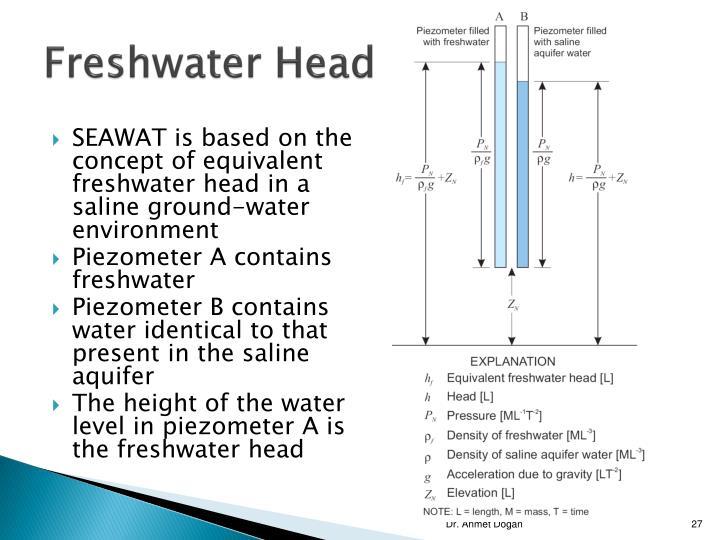 Freshwater Head