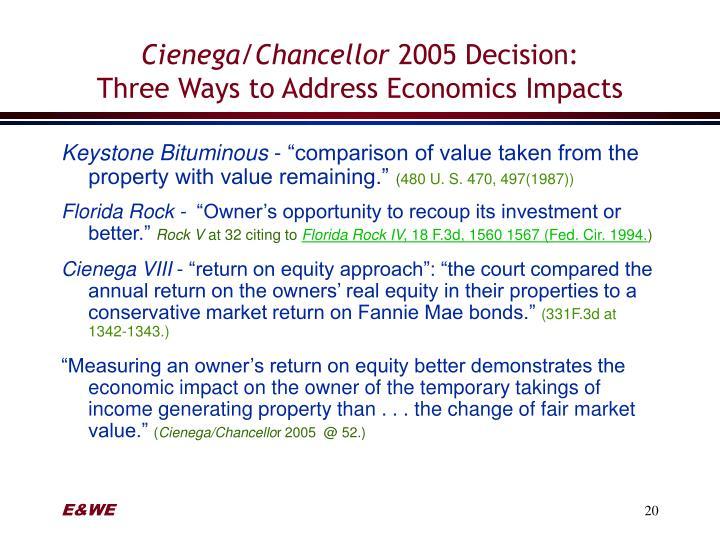 Cienega/Chancellor
