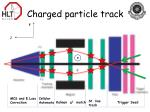 charged particle track