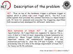 description of the problem2