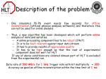 description of the problem3