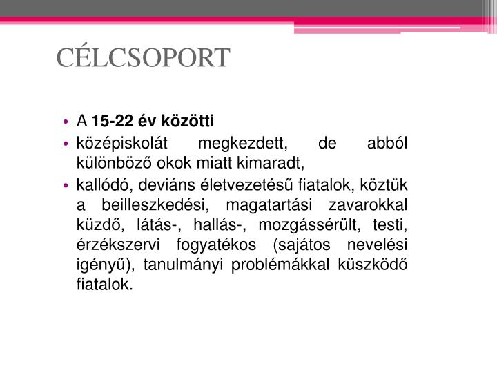 CÉLCSOPORT