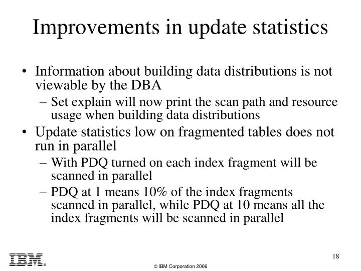 Information about building data distributions is not viewable by the DBA