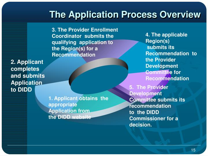 The Application Process Overview