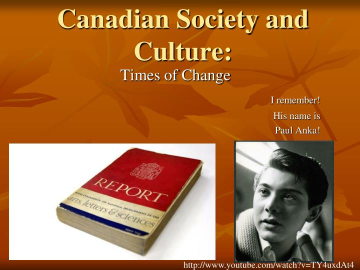 canadian society and culture n.