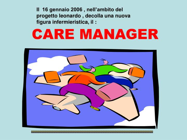 care manager n.