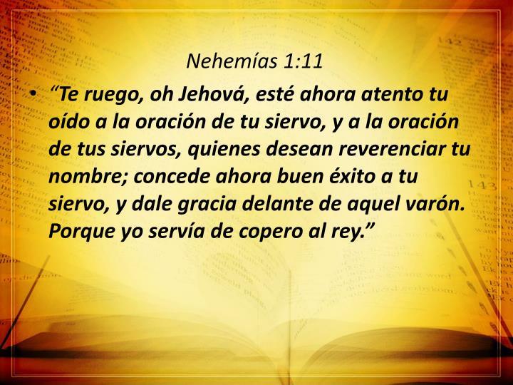 Nehemías 1:11