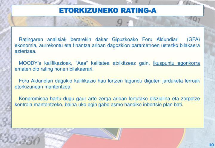 ETORKIZUNEKO RATING-A