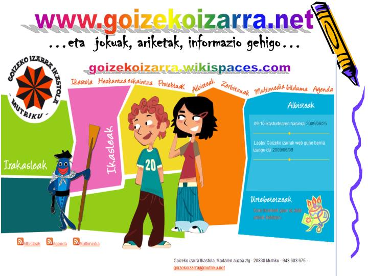 www.goizekoizarra.net