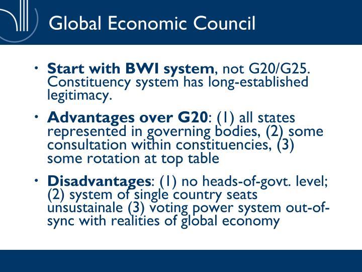 Global Economic Council