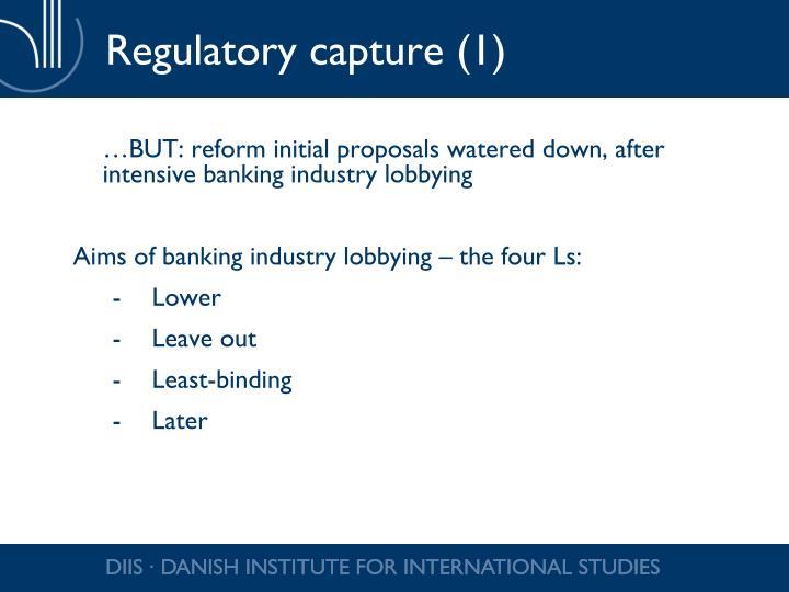 Regulatory capture (1)