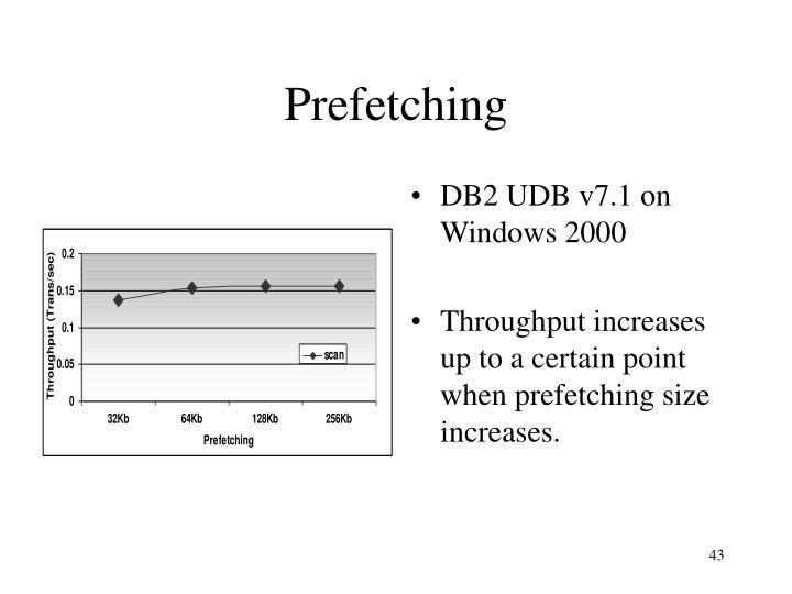 DB2 UDB v7.1 on Windows 2000