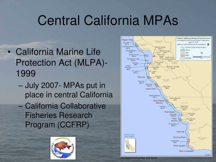 Central california mpas