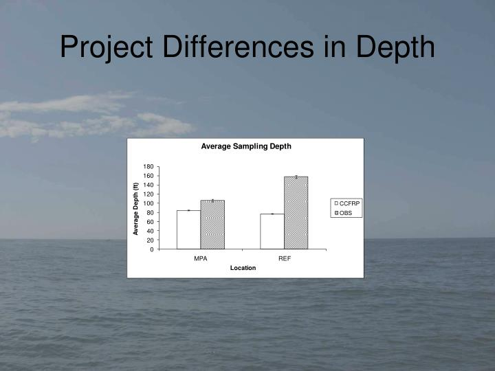 Project Differences in Depth