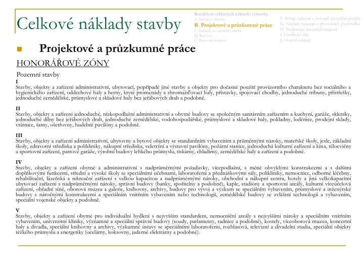b9d615a76559 PPT - CELKOVÉ NÁKLADY STAVBY PowerPoint Presentation - ID 4027188