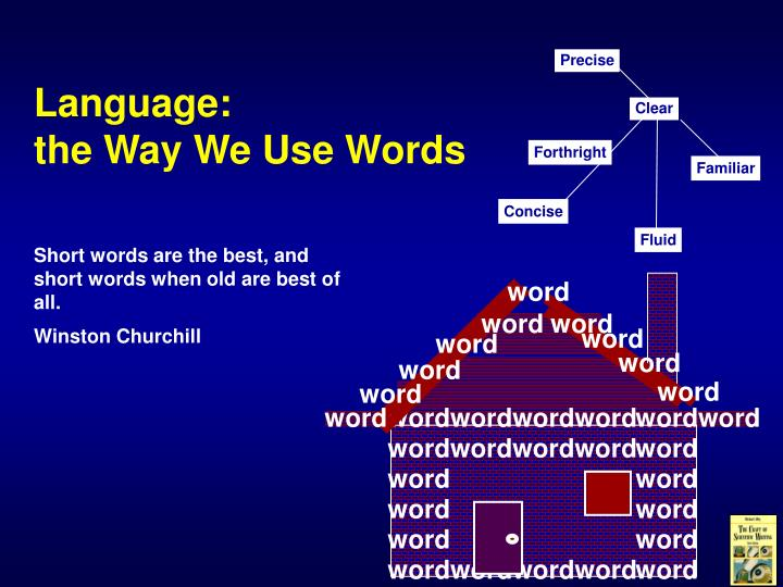 language the way we use words n.