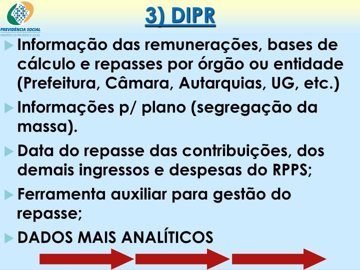 3) DIPR
