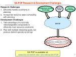 sa pop research development challenges