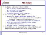 arc history