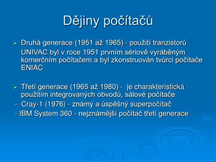 Dějiny počítačů