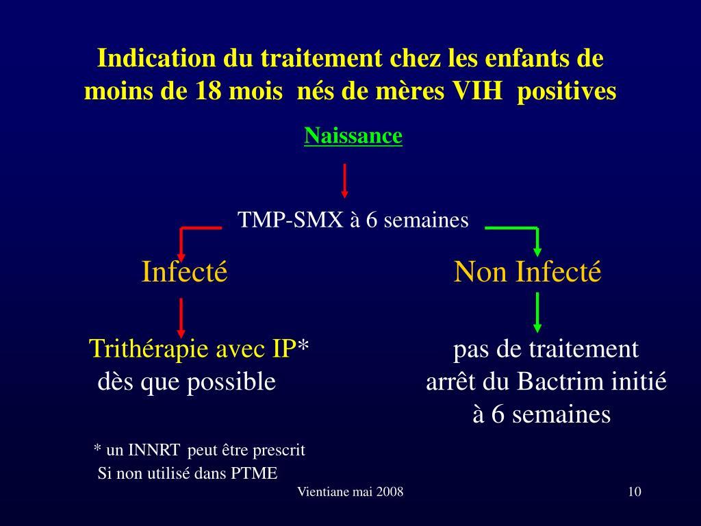 PPT - Le traitement antirétroviral de l'enfant infecté par le VIH ...