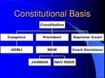 constitutional basis
