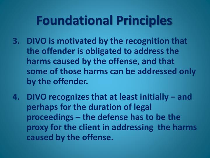 Foundational Principles