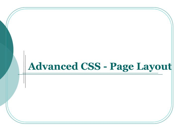 advanced css page layout n.
