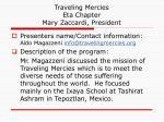 traveling mercies eta chapter mary zaccardi president